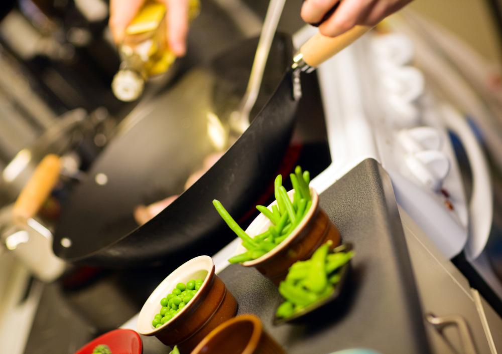 Die Kochshow als Event beim Event. Eine außergewöhnliche und kulinarische Unterhaltung.